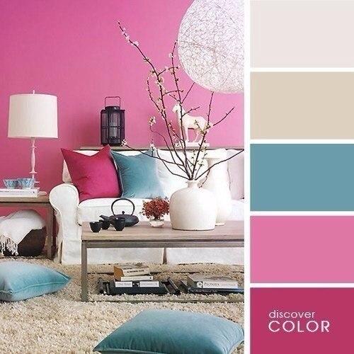 Советы дизайнера: Сочетание цветов в интерьере