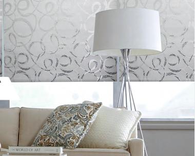 Красивые рулонные шторы для вашего интерьера